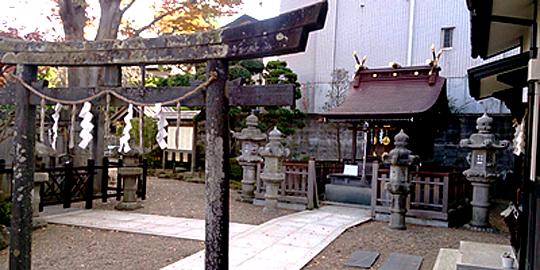 「御釜神社」の写真