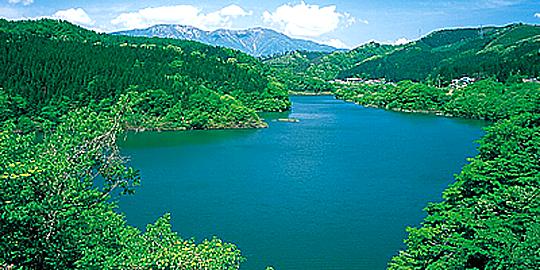 「鳴子ダム」の写真